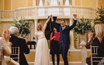 Lucy and Joe: New Year's Eve Wedding in Norwich