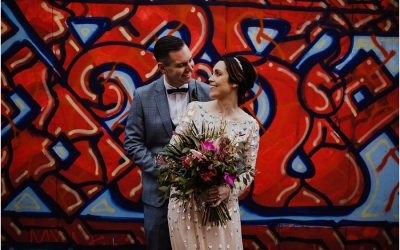 Melissa and Dave: urban wedding in the Steel City