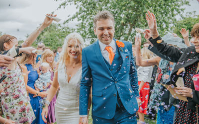 Cathy and Ste: relaxed pub garden wedding